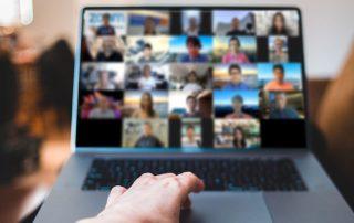 Zoom-Videokonferenz