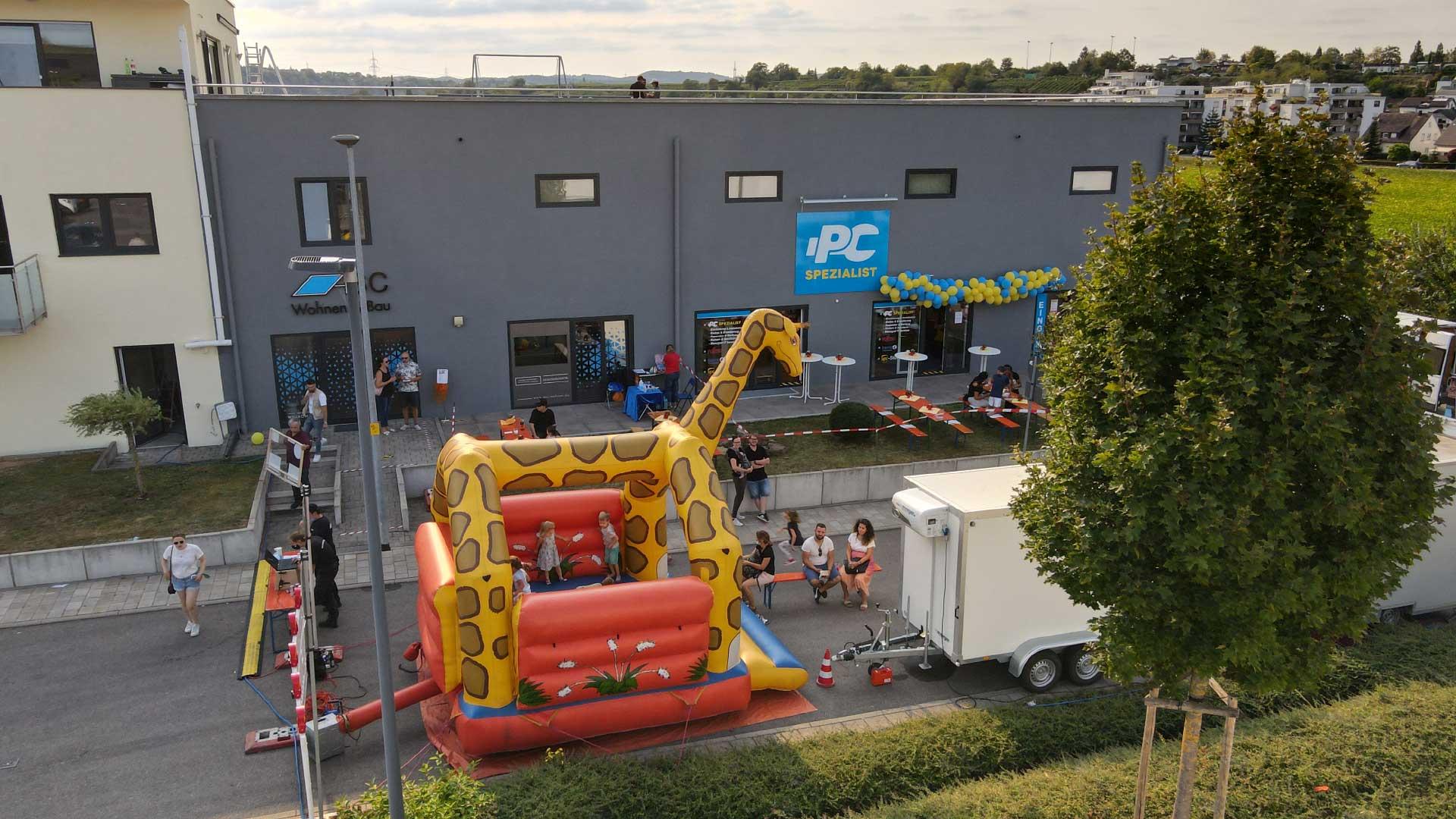 Filialeröffnung PC-Spezialist Kirchheim am Neckar